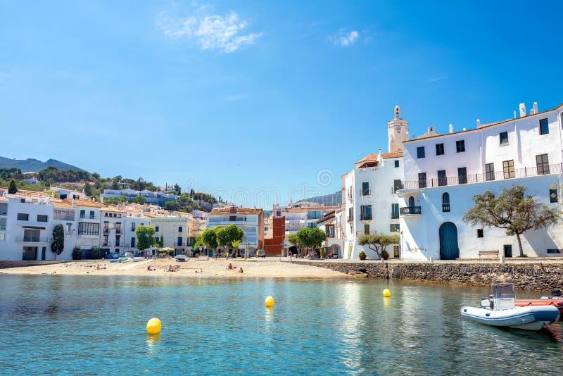 Cadaques, Costa Brava, Spanje royalty-vrije stock afbeelding