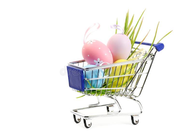 Caddie de Pâques image stock