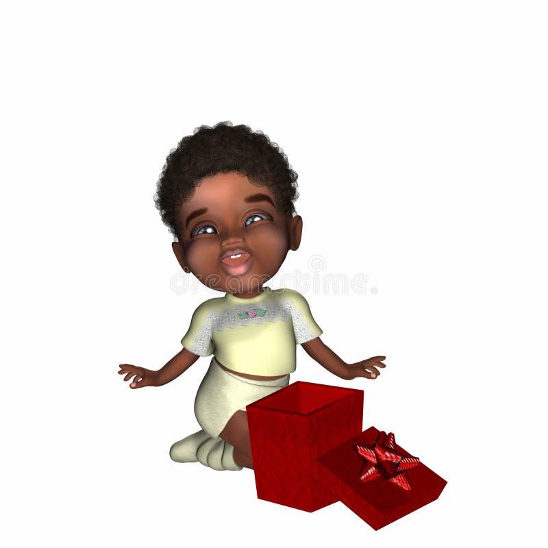Cadeau 2 de Noël illustration libre de droits