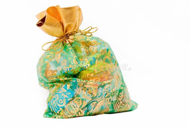 Cadeau avec des chocolats images libres de droits