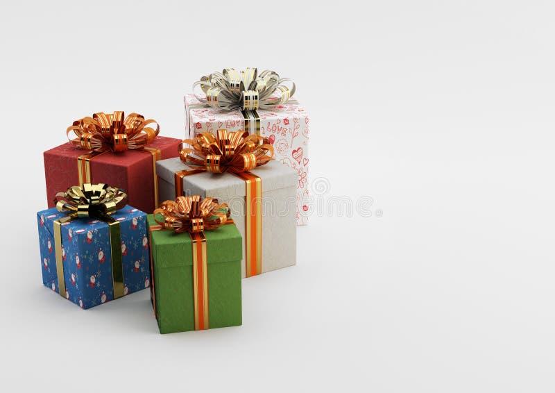 Cadeau Boxes photos libres de droits