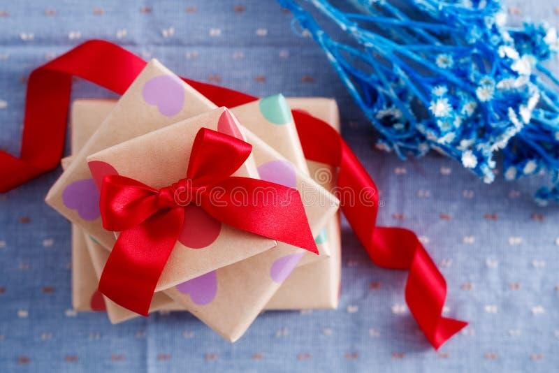 Cadeau Boxes photos stock