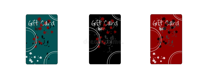 Cadeau Card2 images stock
