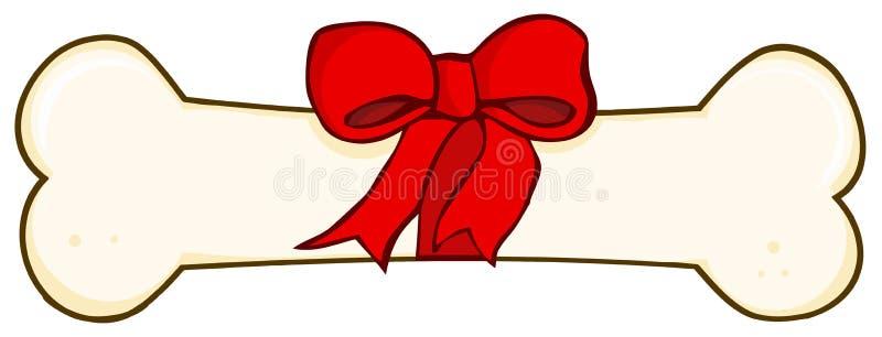 Cadeau d'os de crabot illustration stock