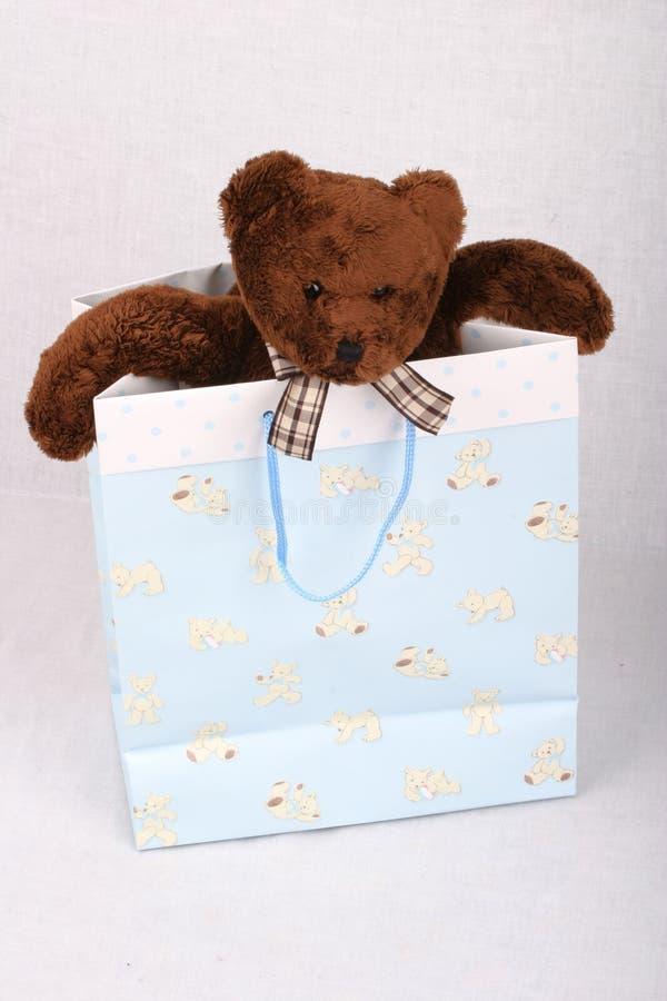 Download Cadeau d'ours image stock. Image du chéri, brun, animal - 57259