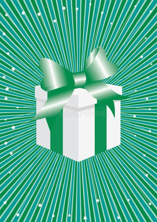 cadeau de célébration de fond abstrait illustration libre de droits