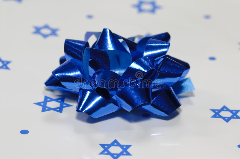 Cadeau de Chanukah photos stock