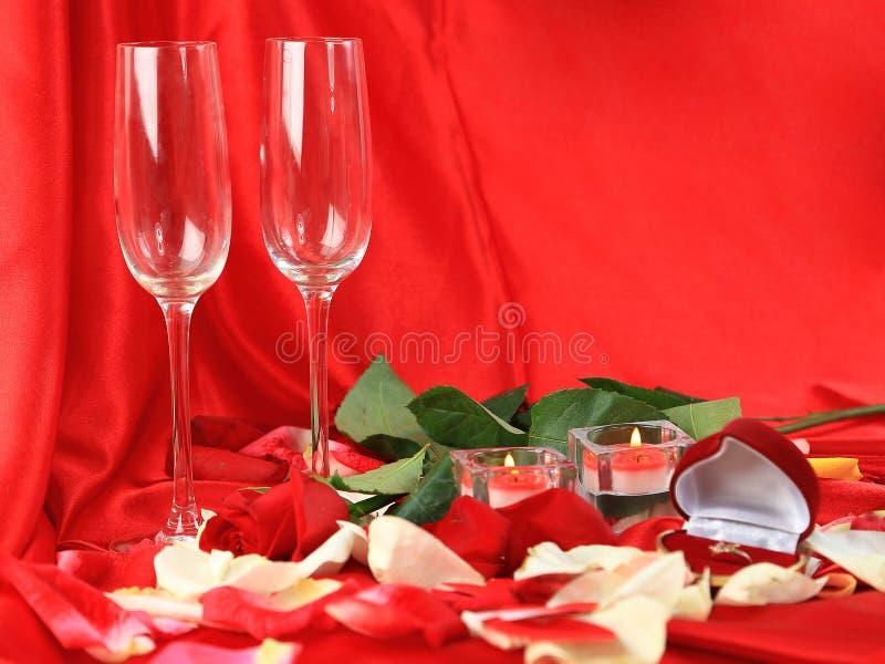 Saint-Valentin romantique photo stock