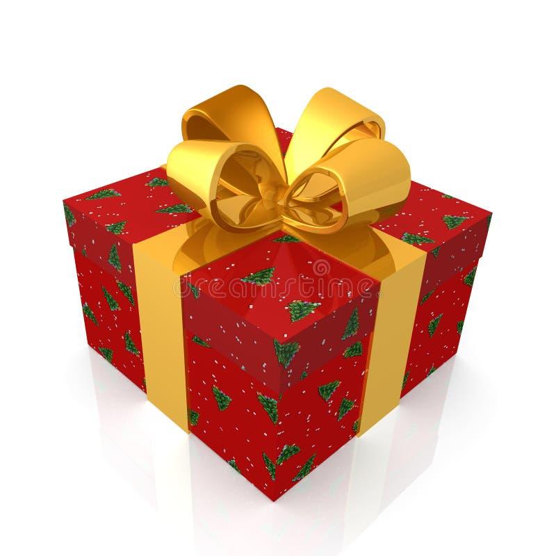 Cadeau de Noël illustration stock