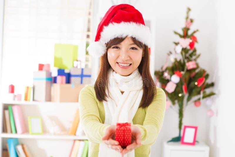 Cadeau de Noël pour vous image libre de droits