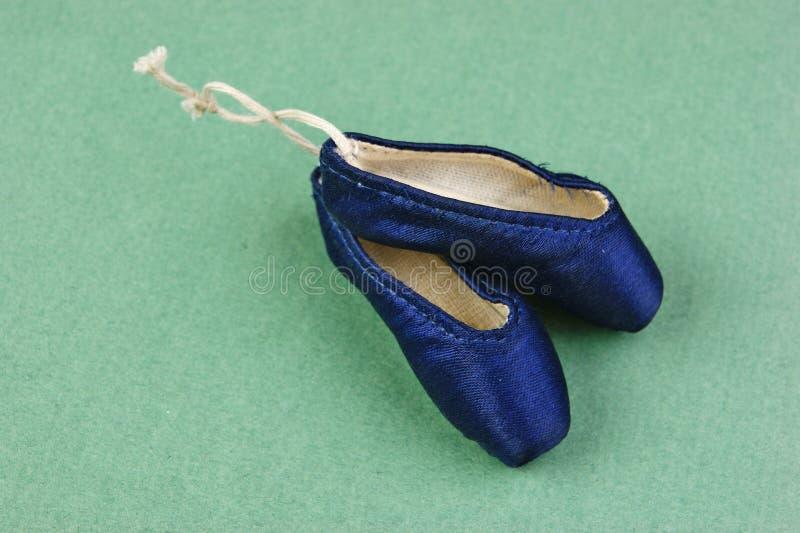 Cadeau de pointe de pantoufles de ballet image libre de droits