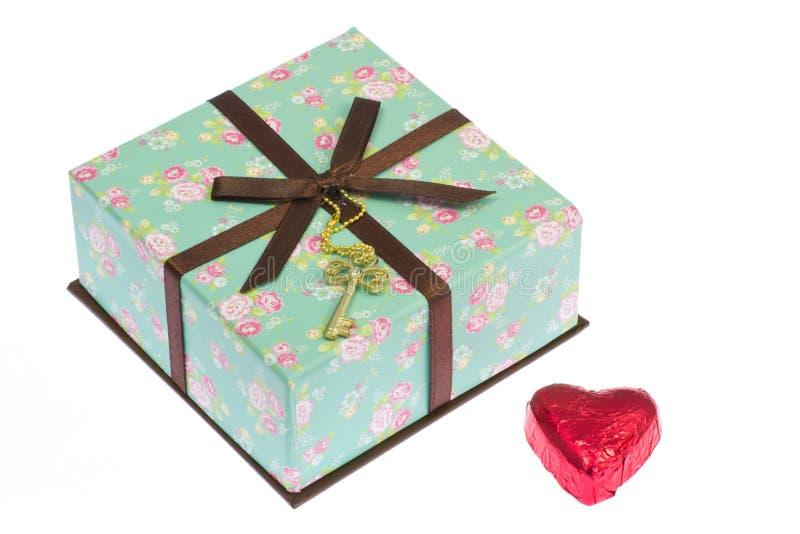 Cadeau de Saint-Valentin images libres de droits