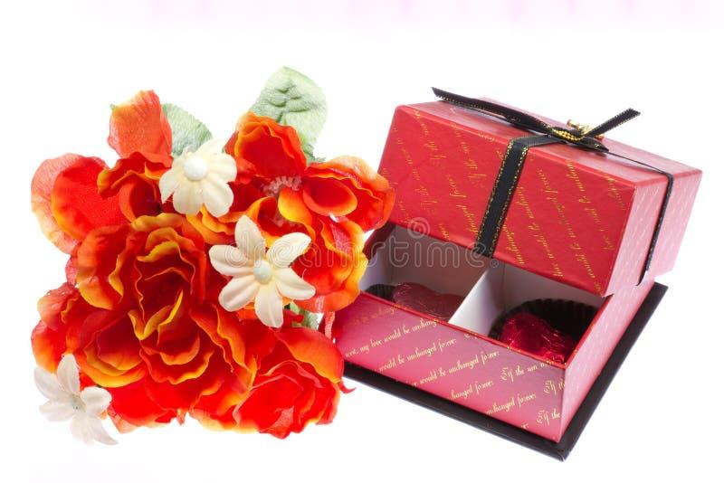 Cadeau de Saint-Valentin photographie stock