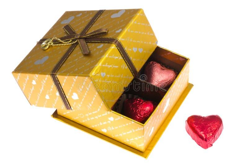 Cadeau de Saint-Valentin photo libre de droits