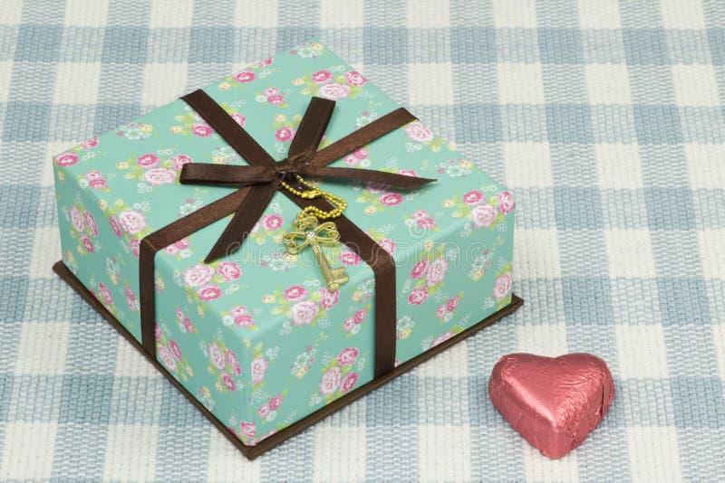 Cadeau de Saint-Valentin photo stock