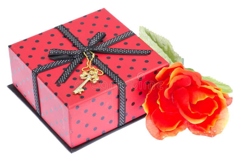 Cadeau de Saint-Valentin photos stock