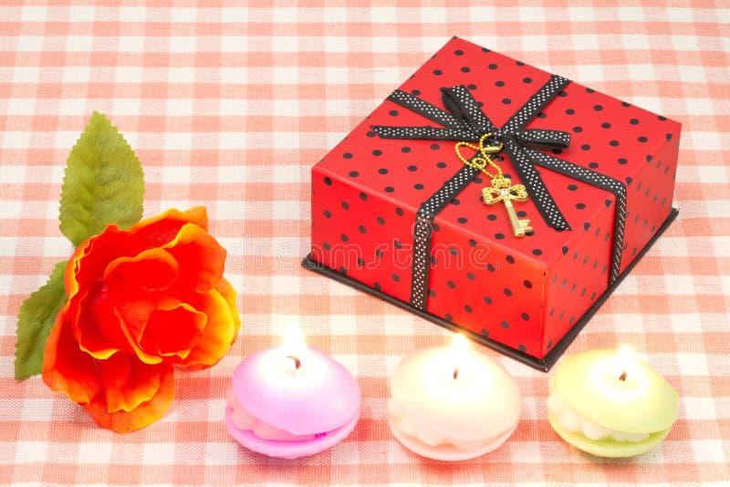 Cadeau de Saint-Valentin images stock