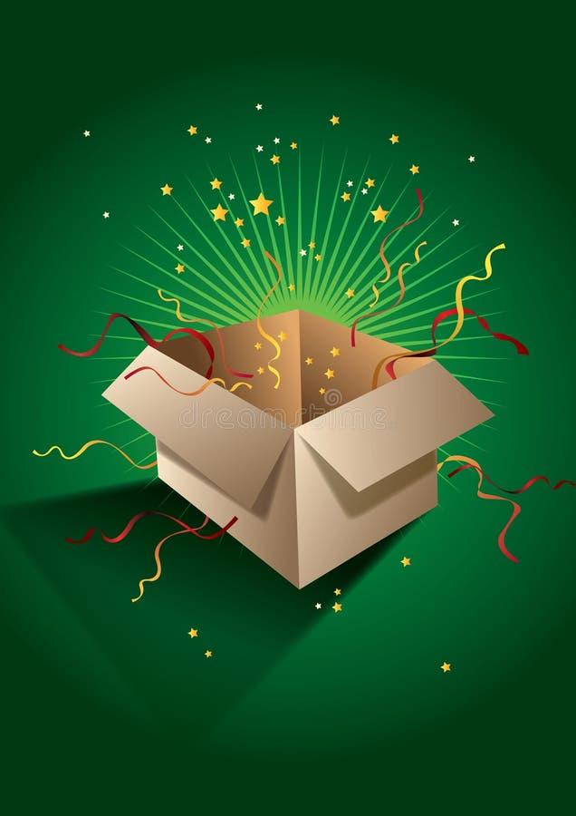 Cadeau de surprise illustration stock