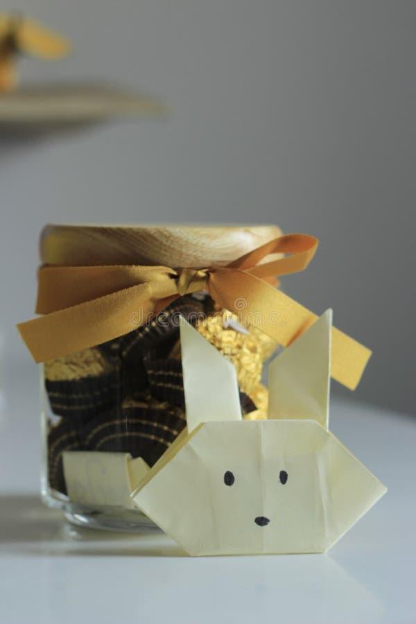 Cadeau et carte photo stock