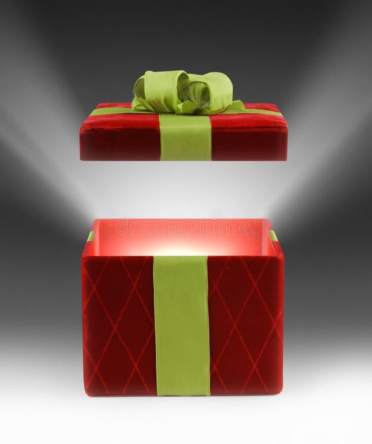 Cadeau léger image stock
