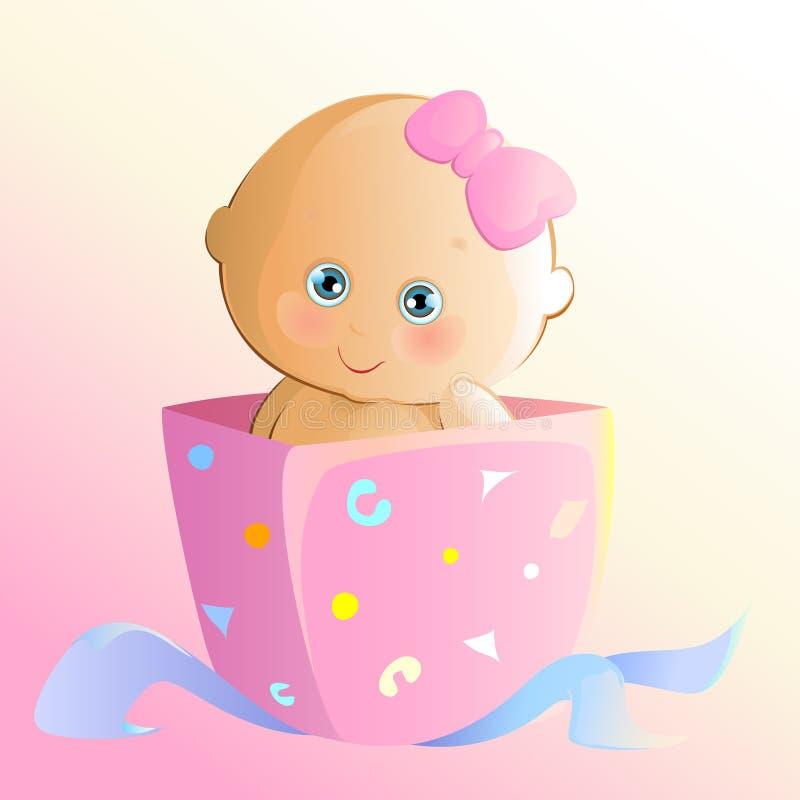 Cadeau mignon illustration stock