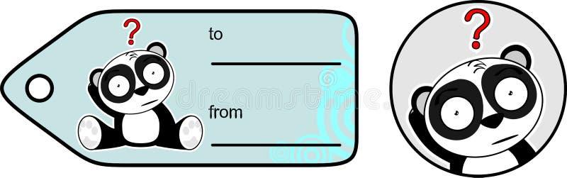 Download Cadeau Mignon Card2 De Bande Dessinée D'ours Panda Illustration de Vecteur - Illustration du illustration, ours: 45359519