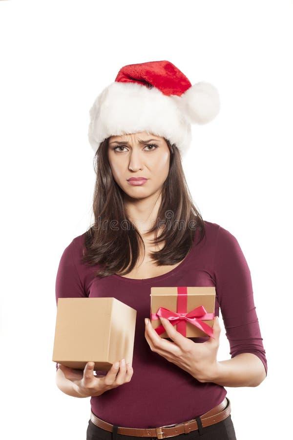Cadeau non désiré de Noël image stock. Image du désiré   63392731