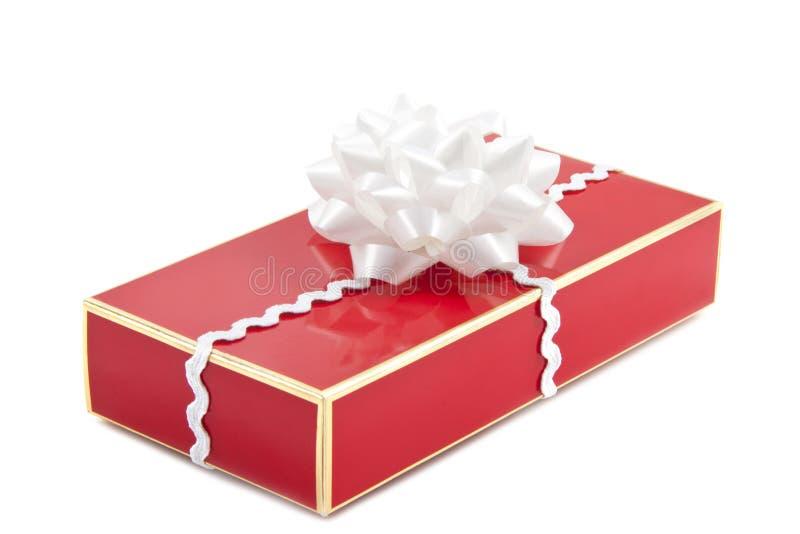 Cadeau spécial de Noël photographie stock libre de droits