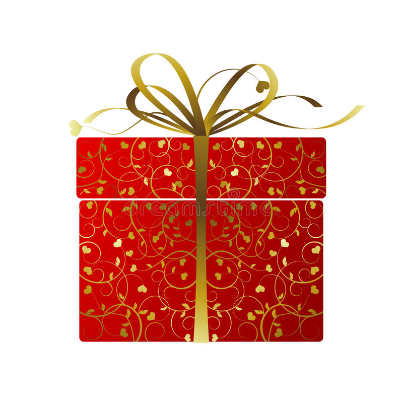 Cadeau stylisé -   illustration stock