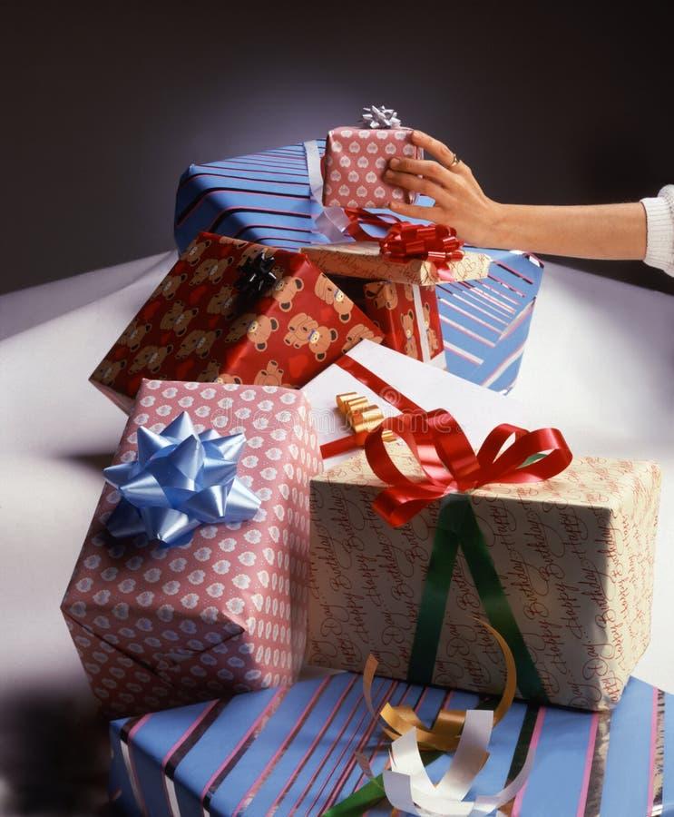 Download Cadeaux photo stock. Image du achats, cadres, donner, anniversaires - 65780