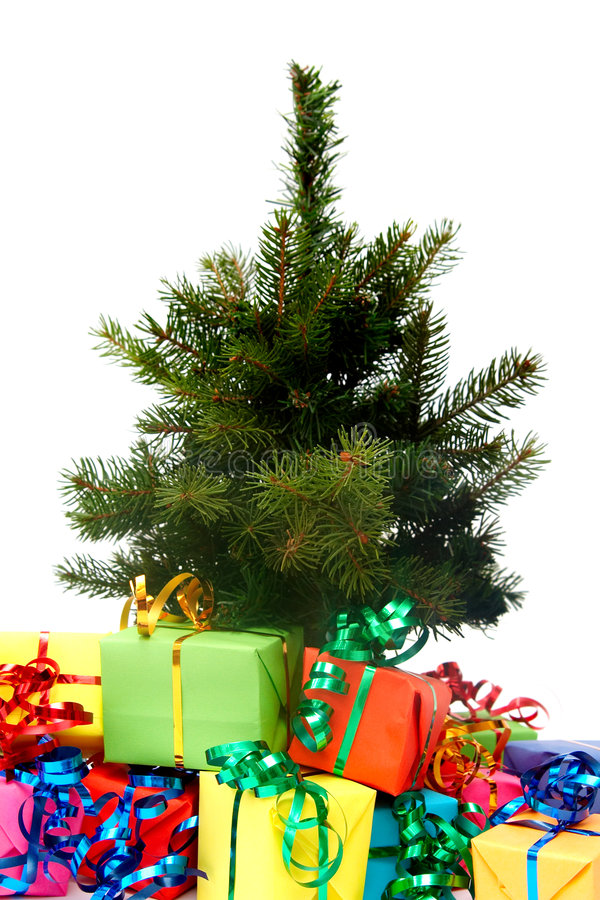 Cadeaux colorés image stock