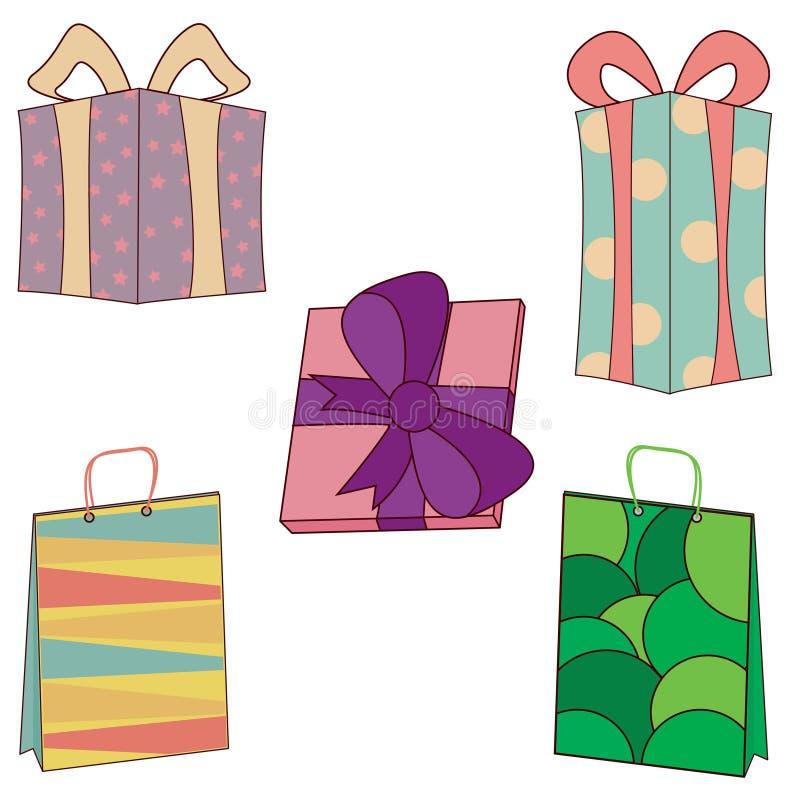 Cadeaux et présents illustration libre de droits