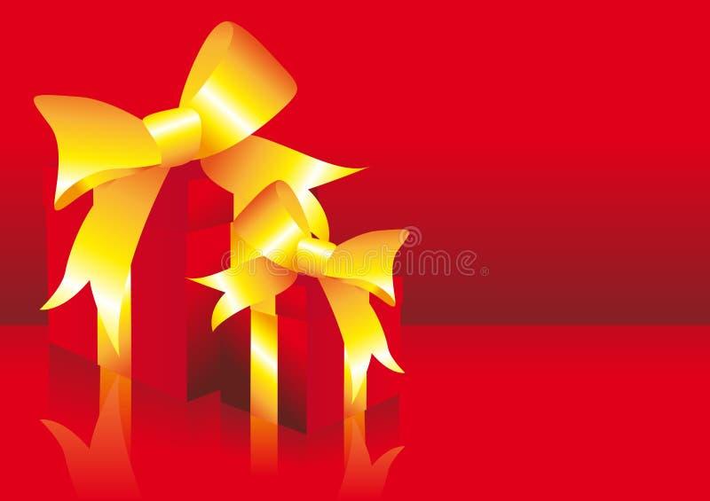 Cadeaux romantiques illustration libre de droits
