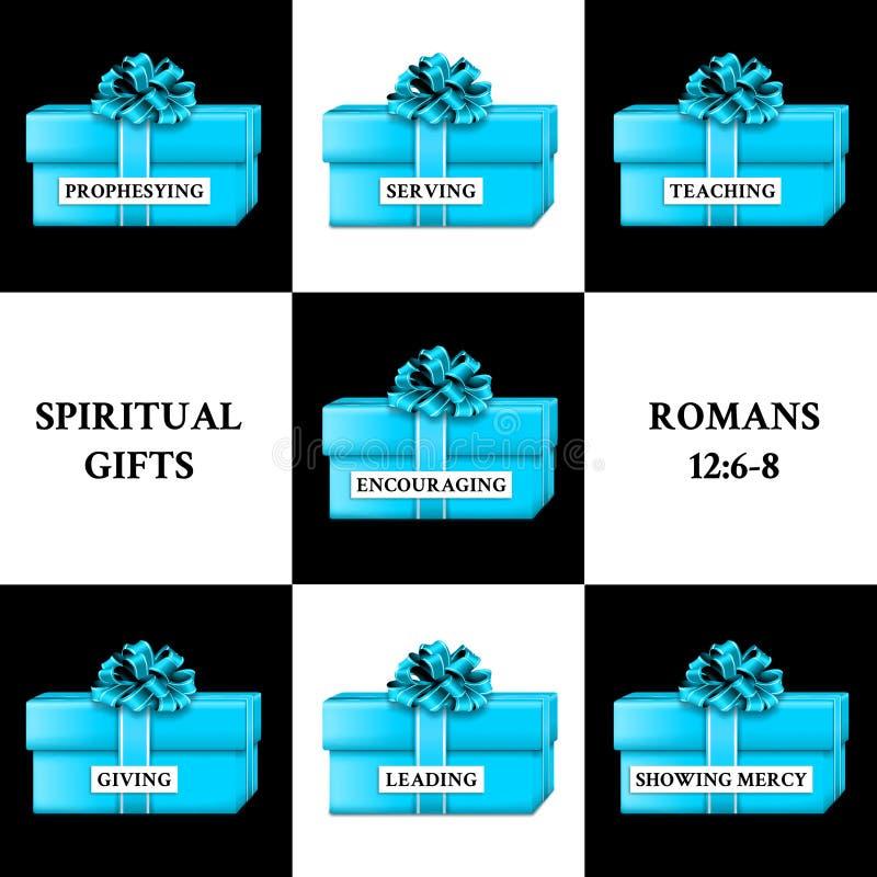 Cadeaux spirituels illustration stock