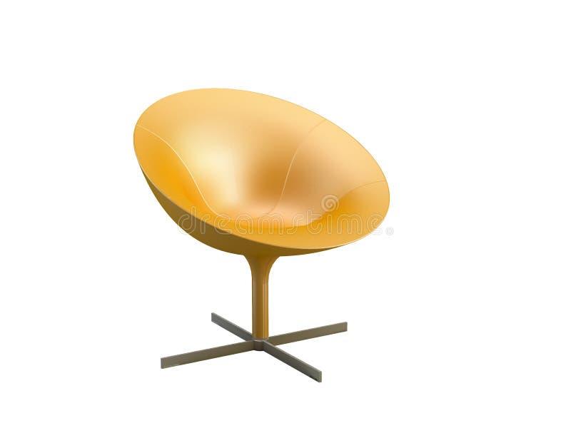 Cadeira à moda ilustração stock