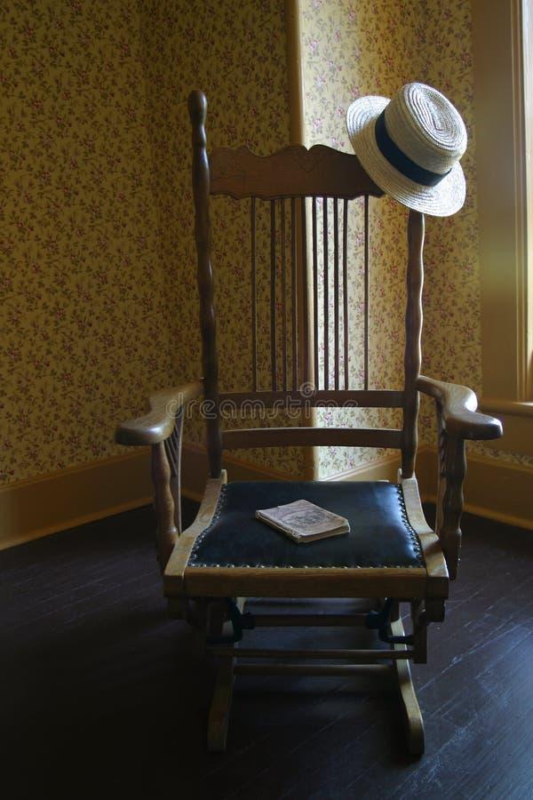 Cadeira antiga imagens de stock