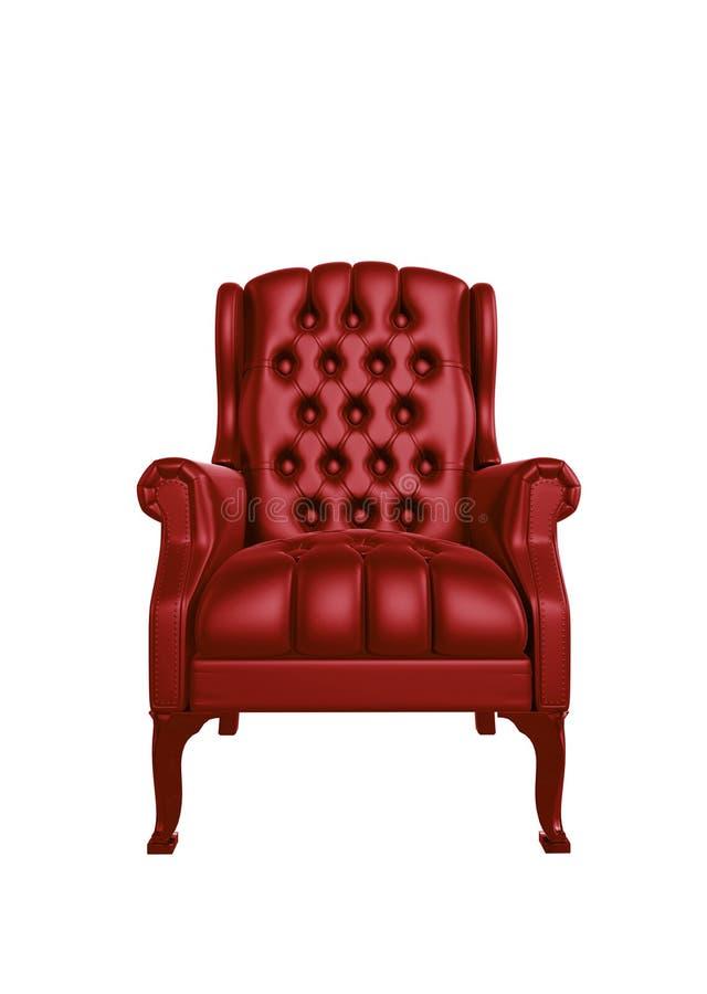 Cadeira clássica ilustração stock