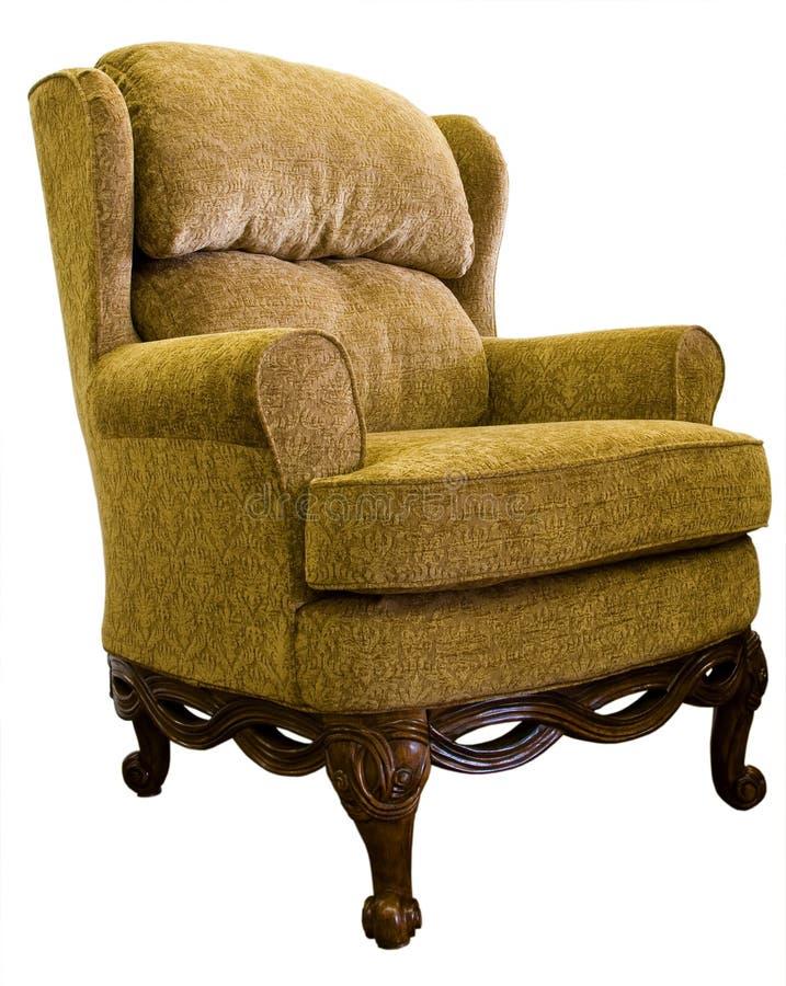 Cadeira de asa da rainha Anne fotografia de stock royalty free