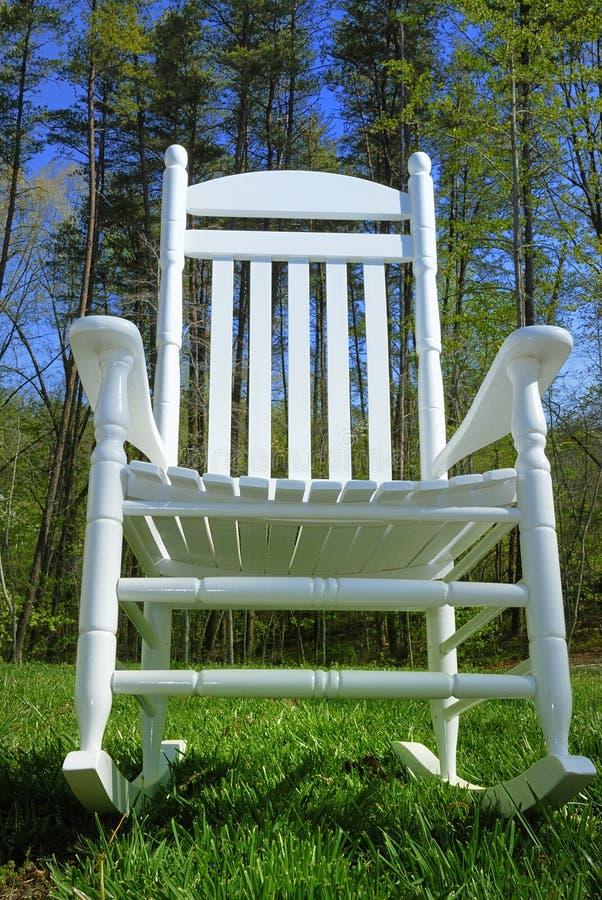 Cadeira de balanço foto de stock royalty free