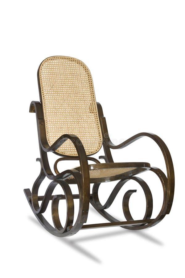 Cadeira de balanço imagem de stock