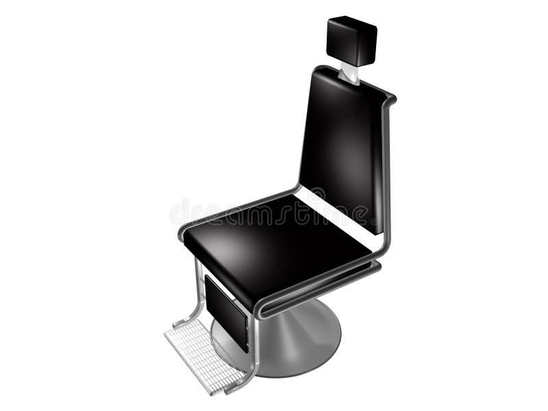 Cadeira de barbeiro ilustração royalty free