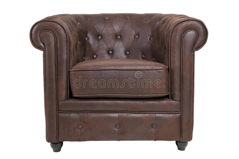 Cadeira de Chesterfield foto de stock royalty free