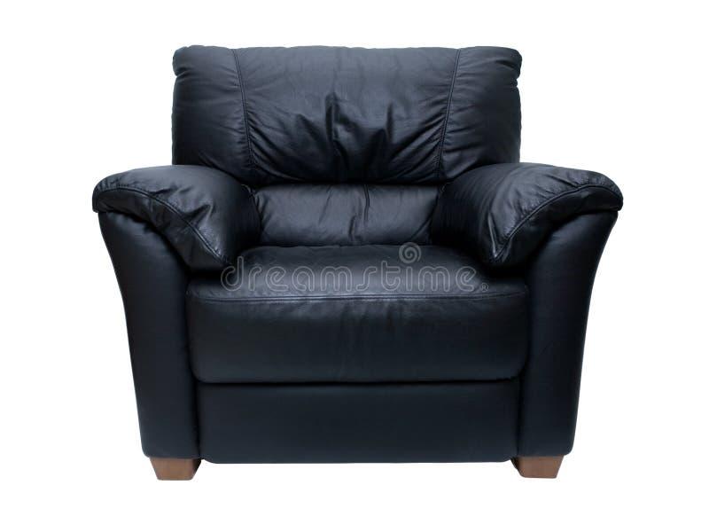 Cadeira de couro imagens de stock royalty free