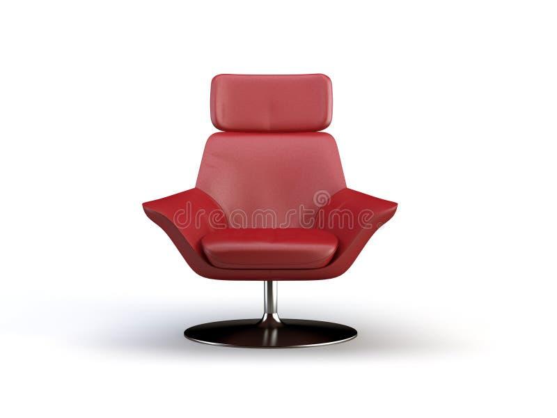 Cadeira de couro ilustração do vetor
