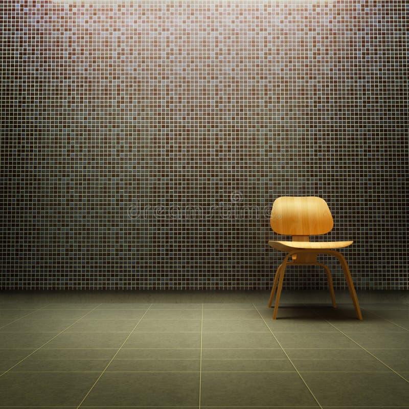 Cadeira de Eames ilustração royalty free