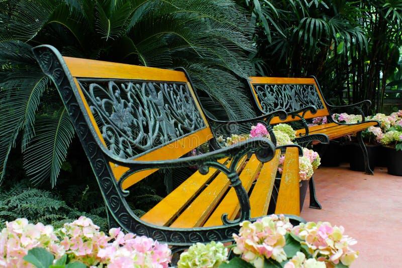 Cadeira de jardim imagem de stock royalty free