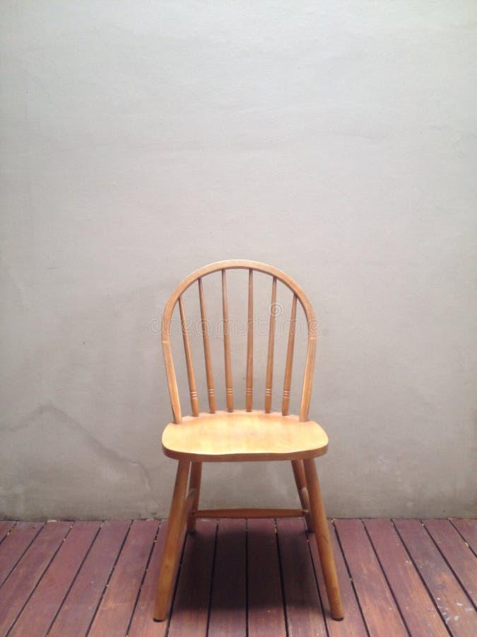 Cadeira de madeira fotografia de stock royalty free