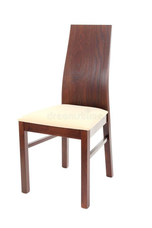 Cadeira de madeira moderna imagens de stock