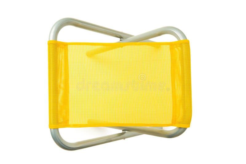 Download Cadeira De Praia Isolada No Branco Imagem de Stock - Imagem de descansar, objeto: 12812825