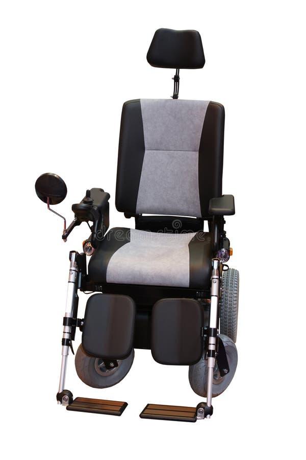 Cadeira de rodas da inabilidade imagem de stock